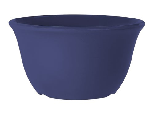 GET Mardi Gras Peacock Blue 7 Oz. Bouillon Cup - 4