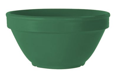 G.E.T. Enterprises BC-170-FG Diamond Mardi Gras Rainforest Green 8 oz. Melamine Bouillon Cup