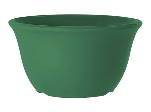 G.E.T. Enterprises BC-70-FG Diamond Mardi Gras Rainforest Green 7 oz. Melamine Bouillon Cup