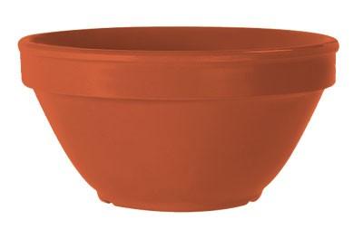 G.E.T. Enterprises BC-170-RO Diamond Mardi Gras Rio Orange 8 oz. Bouillon Cup