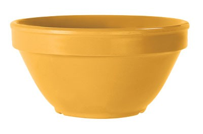 G.E.T. Enterprises BC-170-TY Diamond Mardi Gras Tropical Yellow 8 oz. Bouillon Cup