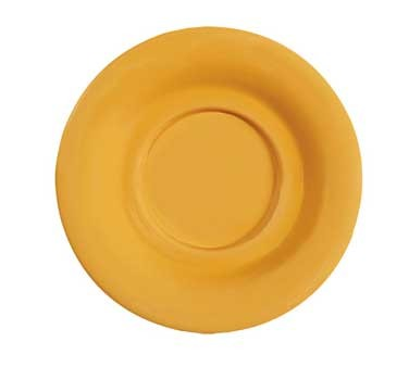 "G.E.T. Enterprises SU-3-TY Diamond Mardi Gras Tropical Yellow Melamine 5-1/2"" Saucer for B-105, BC-70, BC-170, B-454 & C-107"