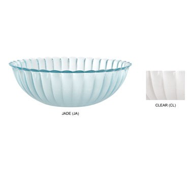GET Mediterranean 10 Oz. Clear Polycarbonate Bowl - 6