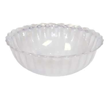 GET Mediterranean Clear Polycarbonate Bowl - 6-1/2