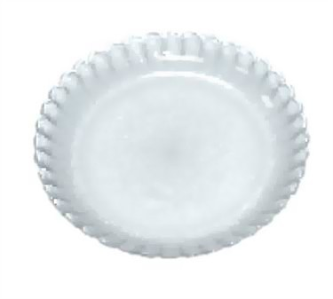 "G.E.T. Enterprises HI-2001-JA Mediterranean Jade Polycarbonate Plate 8"""