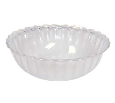 GET Mediterranean Jade Polycarbonate Bowl - 6-1/2
