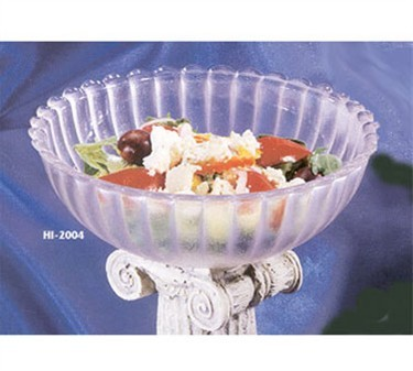 GET Mediterranean Jade Polycarbonate Bowl - 8-1/2