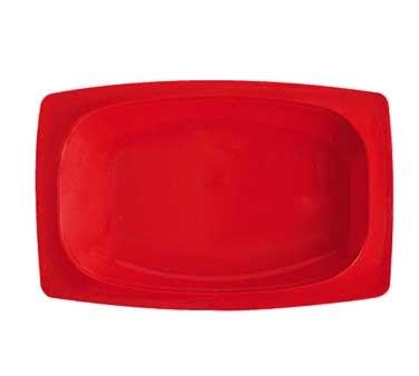 "G.E.T. Enterprises OP-118-RSP Red Sensation Melamine Oval Platter, 12-1/4 x 8"""