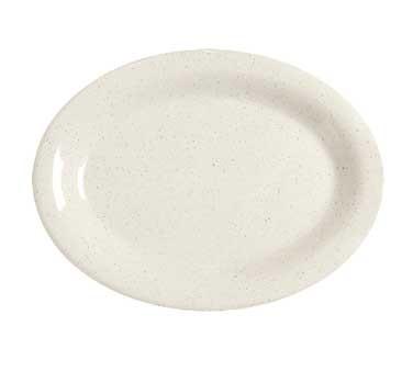"""G.E.T. Enterprises OP-220-IR Santa Fe Ironstone Melamine Oval Platter, 12"""" x 9"""""""