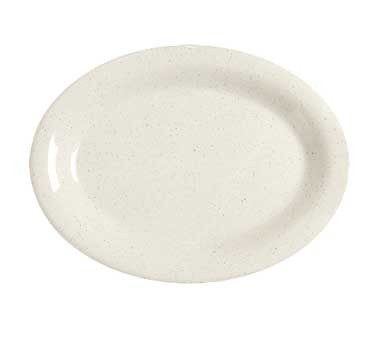 GET Melamine Santa Fe Ironstone Oval Platter - 12