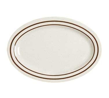 "G.E.T. Enterprises OP-215-U Ultraware Melamine Oval Platter, 11-1/2"" x 8"""