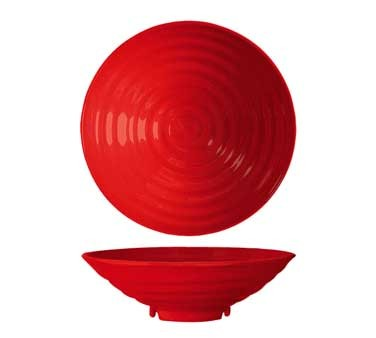 G.E.T. Enterprises ML-78-RSP Red Sensation 1 Qt. Round Bowl