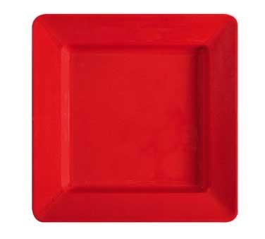 GET Milano Melamine Red Sensation Square Plate - 12