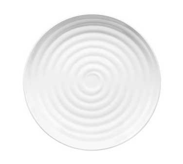GET Milano Melamine White Round Plate - 9-1/2