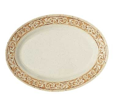 GET Milano Olympia Melamine Oval Platter - 18