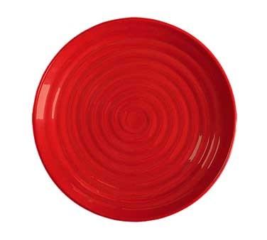 GET Milano Red Sensation Round Plate - 12-1/2