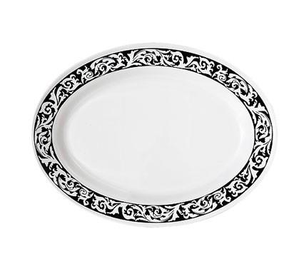 GET Milano Soho Melamine Oval Platter - 18