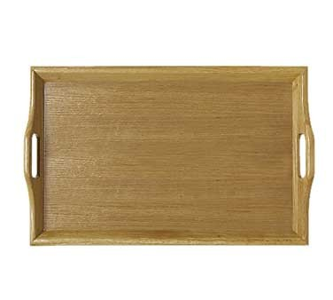 GET Natural Hardwood Room Service Tray - 25
