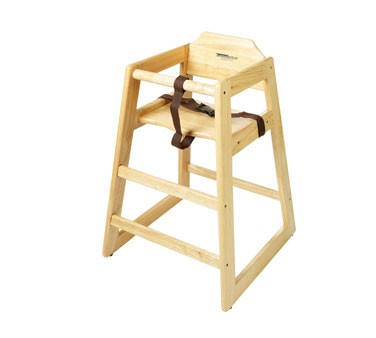 GET Natural Pallet Special Hardwood High Chair