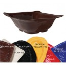 GET New Yorker 4.25 Quart Melamine Brown Square Bowl - 13