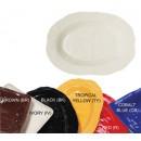 """G.E.T. Enterprises ML-137-BK New Yorker Melamine Black Oval Platter, 17-3/4"""" x 13"""""""
