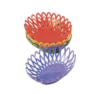 GET Peacock Blue Polypropylene Oval Basket - 10