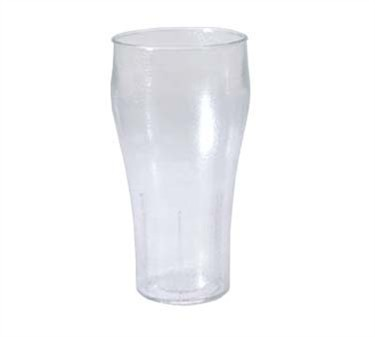 GET Plastic Stackable Bell 20 Oz. Soda Tumbler
