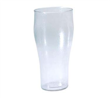 G.E.T. Enterprises 7724-1-CL Clear Plastic 24 oz. Bell Tumbler