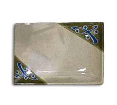 GET Rectangular Traditional Japanese Plate - 5 1/2