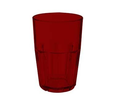 GET Red Bahama 14 Oz. Stackable Beverage Tumbler