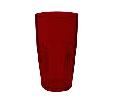 G.E.T. Enterprises 9916-1-R Red Bahama SAN Plastic 16 oz. Cooler Tumbler