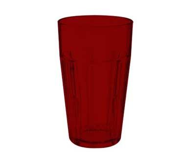 G.E.T. Enterprises 9920-1-R Red Bahama SAN Plastic 20 oz. Cooler Tumbler