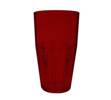 G.E.T. Enterprises 9932-1-R Red Bahama SAN Plastic 32 oz. Cooler Tumbler