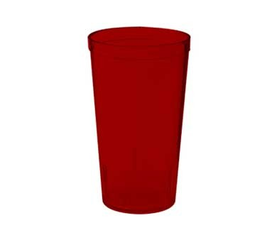 GET Red Textured 12 Oz. Stackable Drinkware Tumbler[ Box of 24]