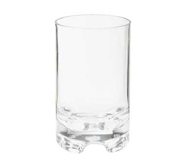 G.E.T. Enterprises SW-1424-1-SAN-CL Roc & Roll Clear SAN Plastic 12 oz. Rock Glass