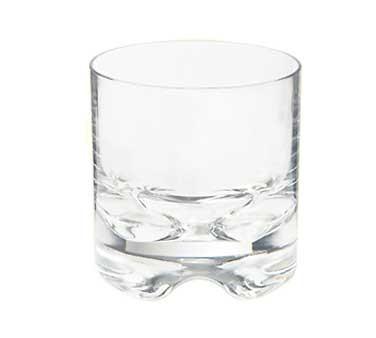 G.E.T. Enterprises SW-1429-1-SAN-CL Roc & Roll Clear SAN Plastic 10 oz. Rock Glass