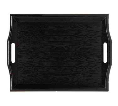 GET SAN Plastic Black Room Service Tray - 18