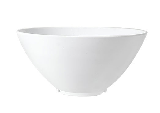 GET San Michele 4-Quart (128 Oz.) White Melamine Bowl - 11