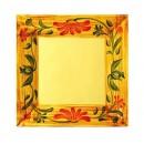 """G.E.T. Enterprises ML-102-VN Venetian Melamine Square Plate 6"""" x 6"""""""