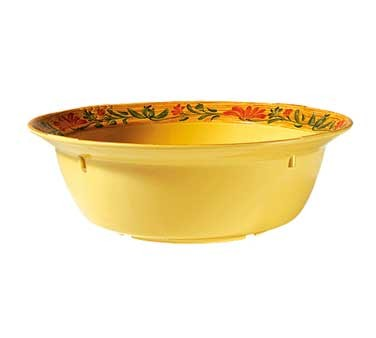 GET Sonoma 10 Quart White Melamine Bowl With Venetian Rim