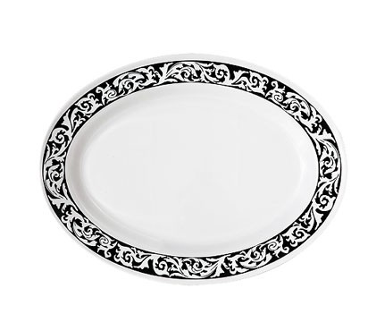 "G.E.T. Enterprises OP-630-SO Soho Melamine Oval Platter, 30"" x 20-1/4"""