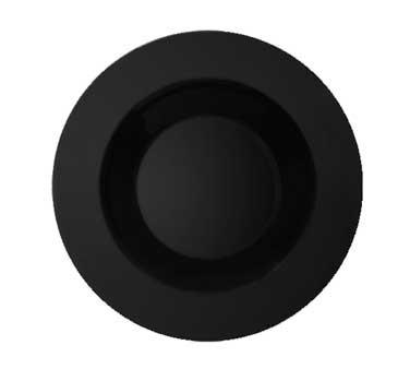 G.E.T. Enterprises B-2412-BK Black Elegance Melamine 24 oz. Pasta/Salad Bowl