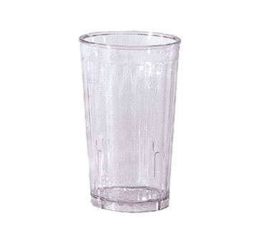 G.E.T. Enterprises 8816-1-CL Spektrum Clear SAN Plastic 16 oz. Tumbler