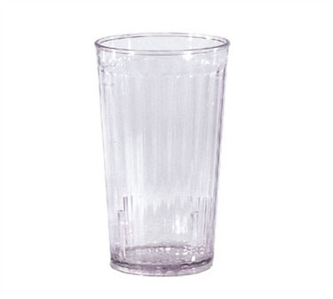 G.E.T. Enterprises 8820-1-CL Spektrum Clear 20 oz. SAN Plastic Tumbler