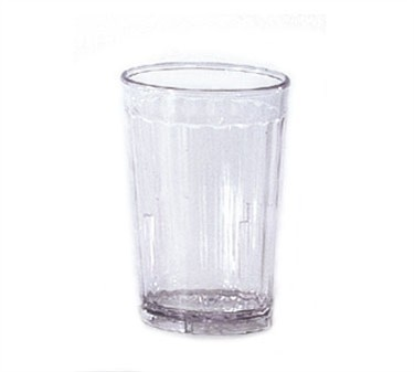 G.E.T. Enterprises 8805-1-CL Spektrum Clear SAN Plastic 5 oz. Tumbler