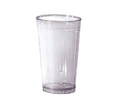 G.E.T. Enterprises 8808-1-CL Spektrum Clear SAN Plastic 8 oz. Tumbler