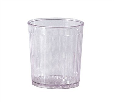 GET Spektrum Stackable 9 Oz. Clear Rocks Tumbler