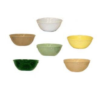G.E.T. Enterprises DN-310-HG SuperMel Hunter Green 10 oz. Nappie Bowl
