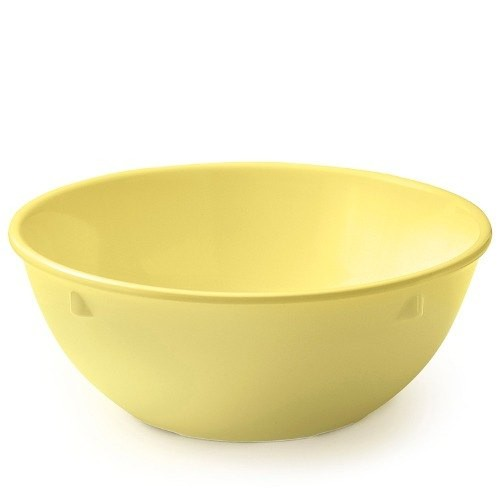 G.E.T. Enterprises DN-310-Y SuperMel Yellow 10 oz. Nappie Bowl