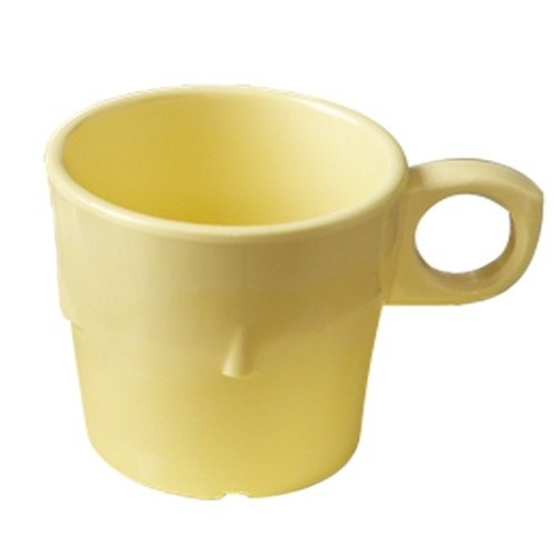 G.E.T. Enterprises DC-101-Y SuperMel Yellow 7.5 oz. Conic Stacking Cup